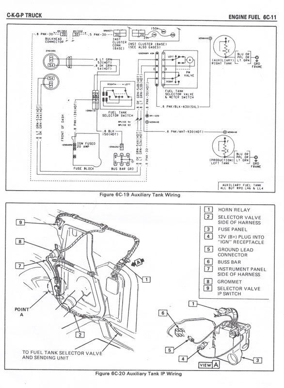1984 gmc sierra with dual 16 gal tanks need help truck forum Chevy Fuel Tank Selector Valve Wiring Diagram at alyssarenee.co
