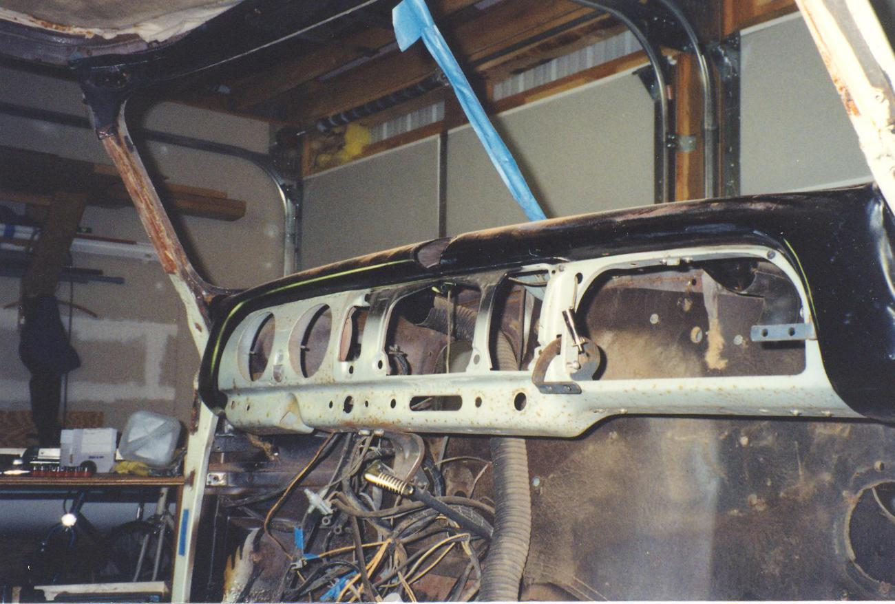 Glove Box Installation In 1951 With Heater Chevy Message Forum 1954 Truck Controls Attachment