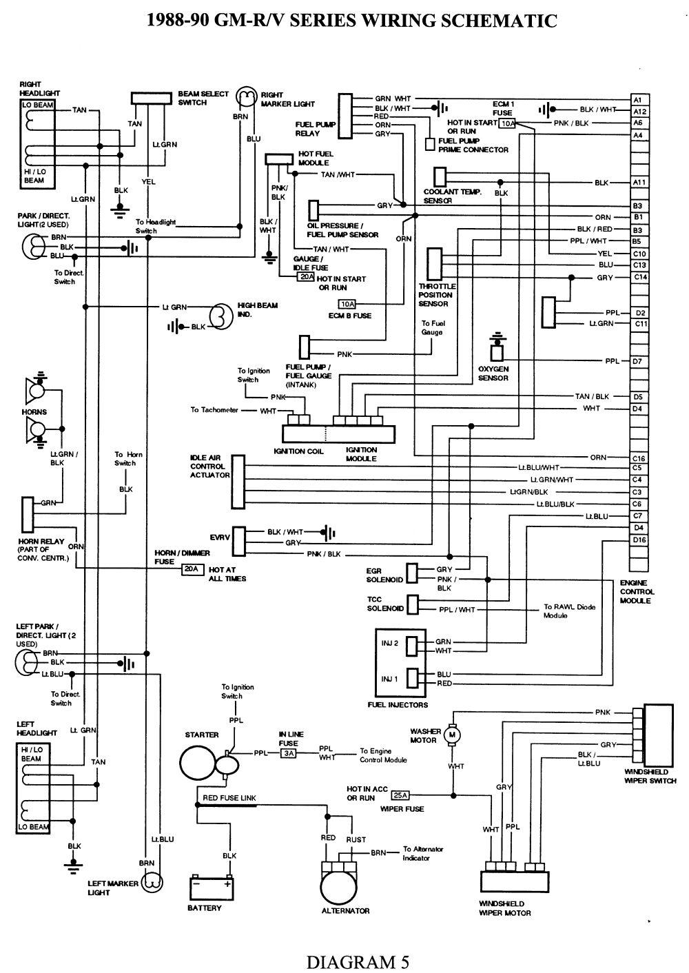 89 Geo Metro Headlight Wiring Diagram