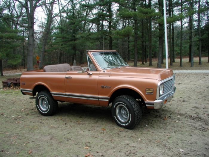 Looking into buying a 1969 to 1972 blazer - Chevy Message Forum