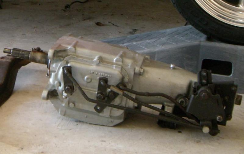 Saginaw 4 Speed Trans linkage question? - Chevy Message