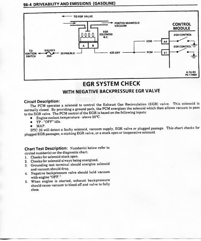 No EGR Vacuum from Solenoid - Chevy Message Forum - Restoration and